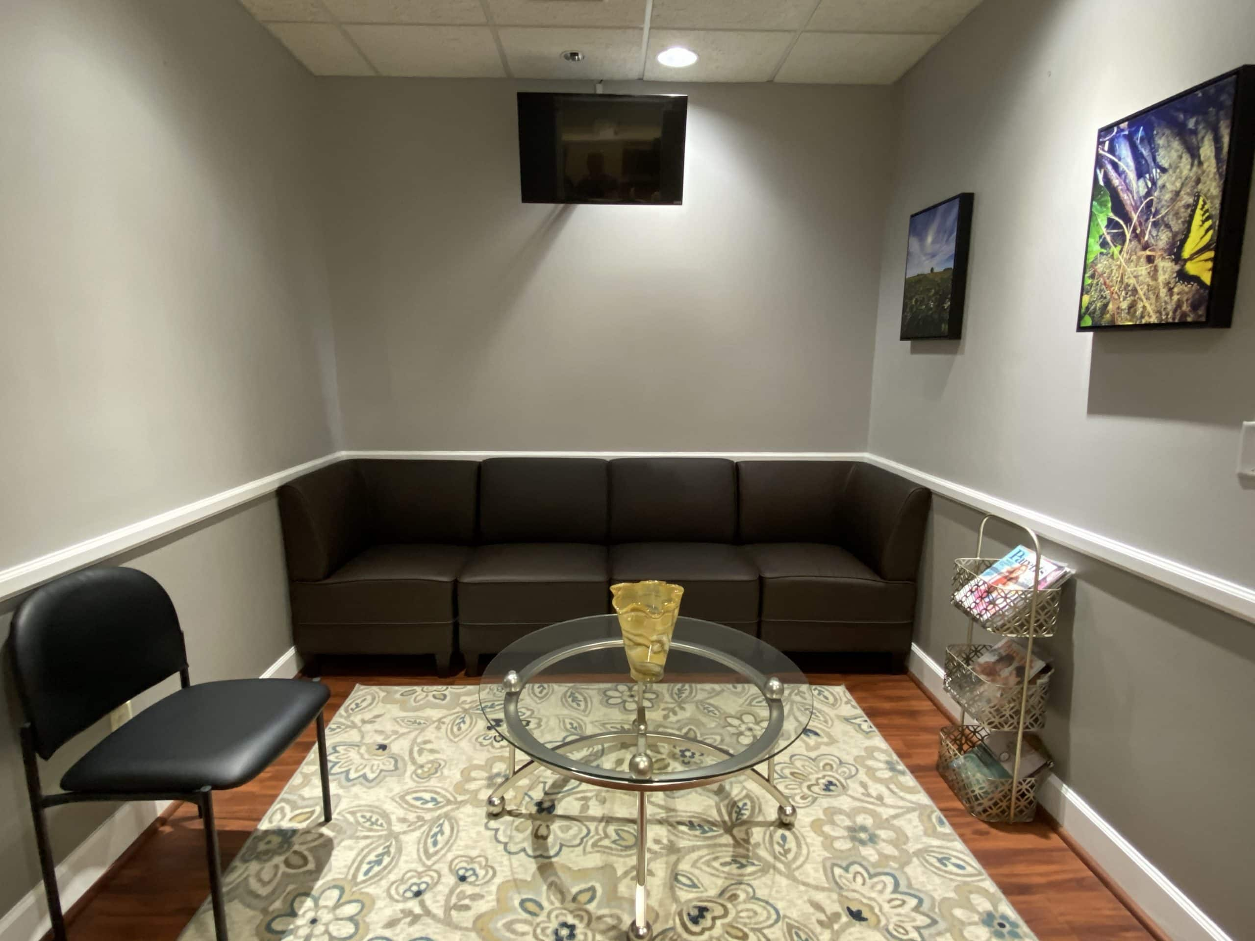 lounge at ketamine clinic in Tampa, FL